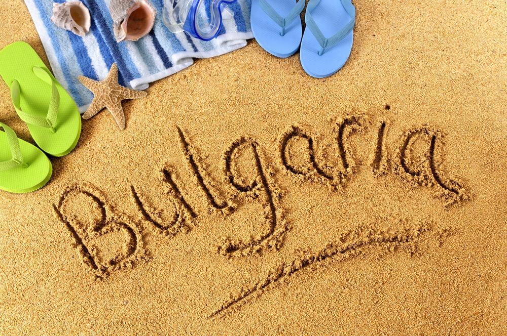Juni i Sunny Beach i Bulgarien