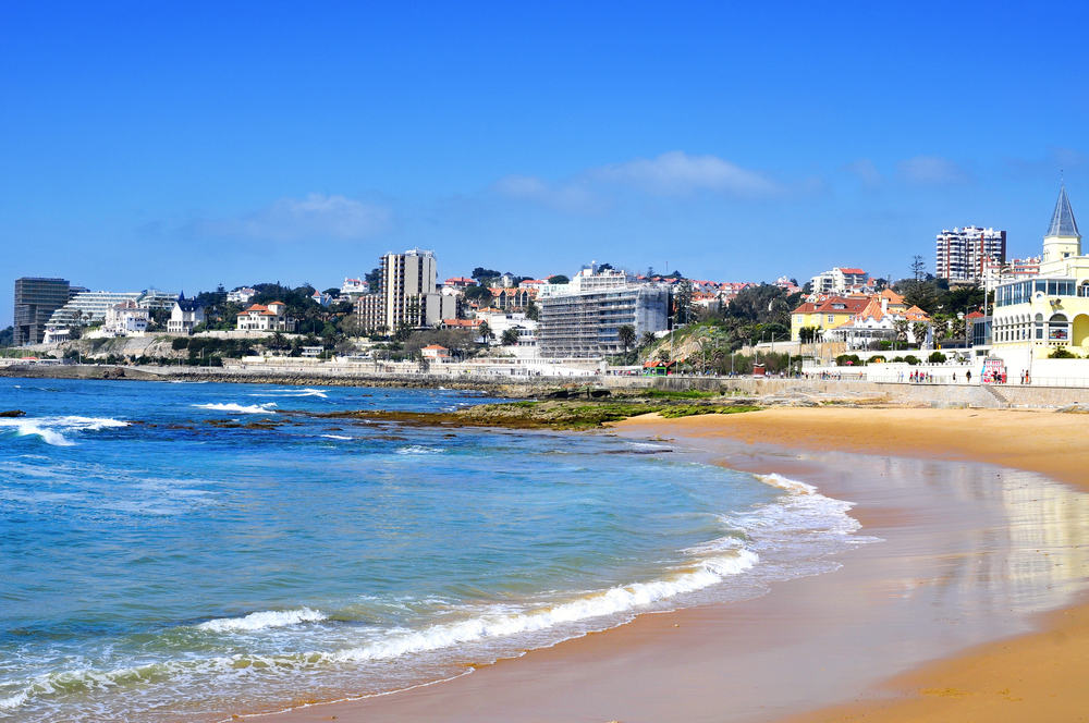 Tamariz stranden - Portugal