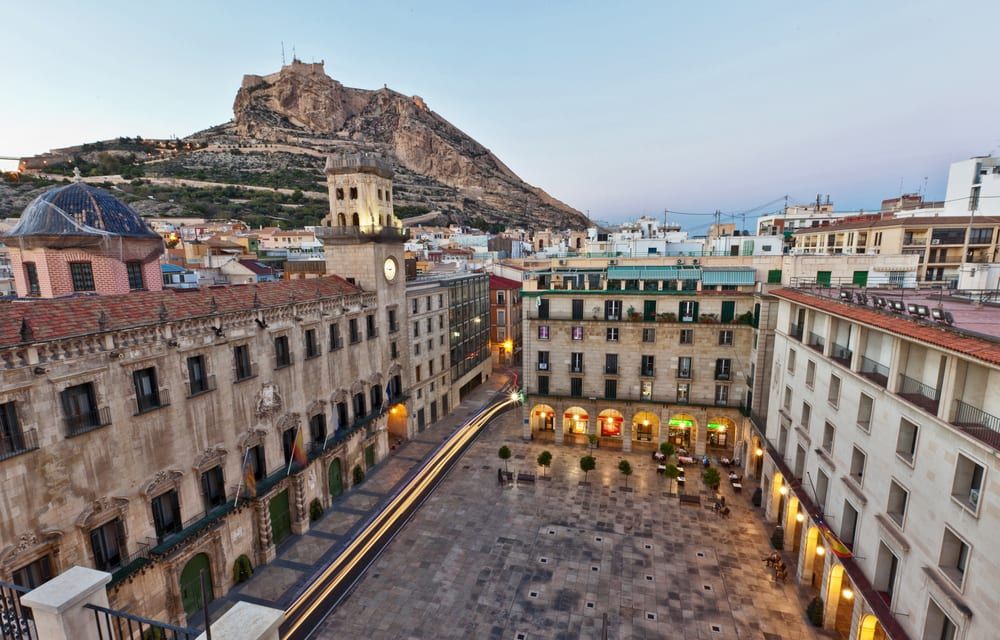 Torv i Alicante - Spanien