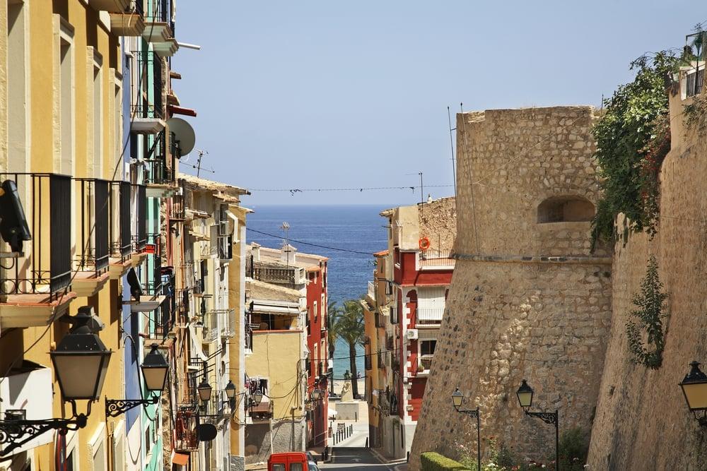 Villajoyosa - Alicante i Spanien