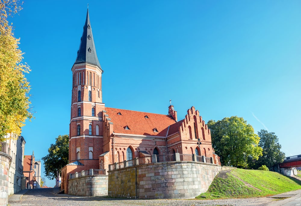 Vytautas kirken - Kaunas i Litauen