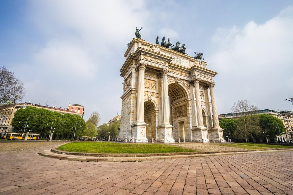 Arco della Pace - Milano i Italien