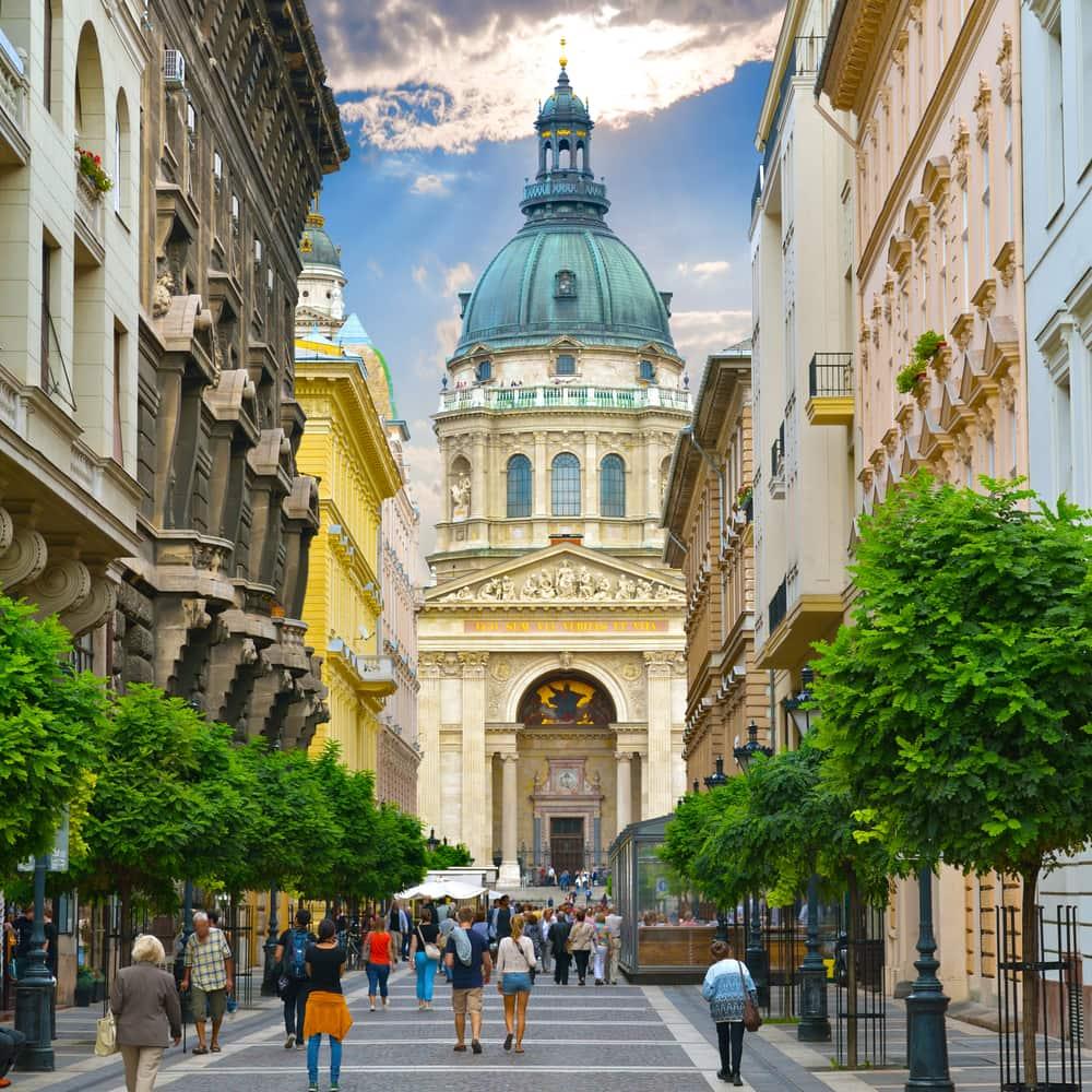 4-stjernet hotel i Budapest