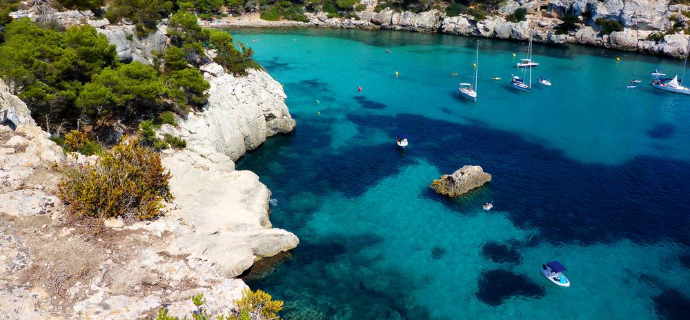 Cala Macarella - Menorca i Spanien