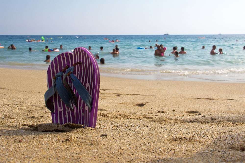 Cleopatra stranden - Alanya i Tyrkiet