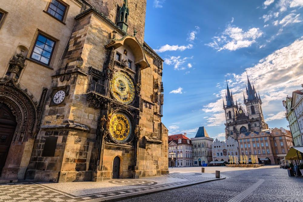 Det astronomiske ur - Prag i Tjekkiet