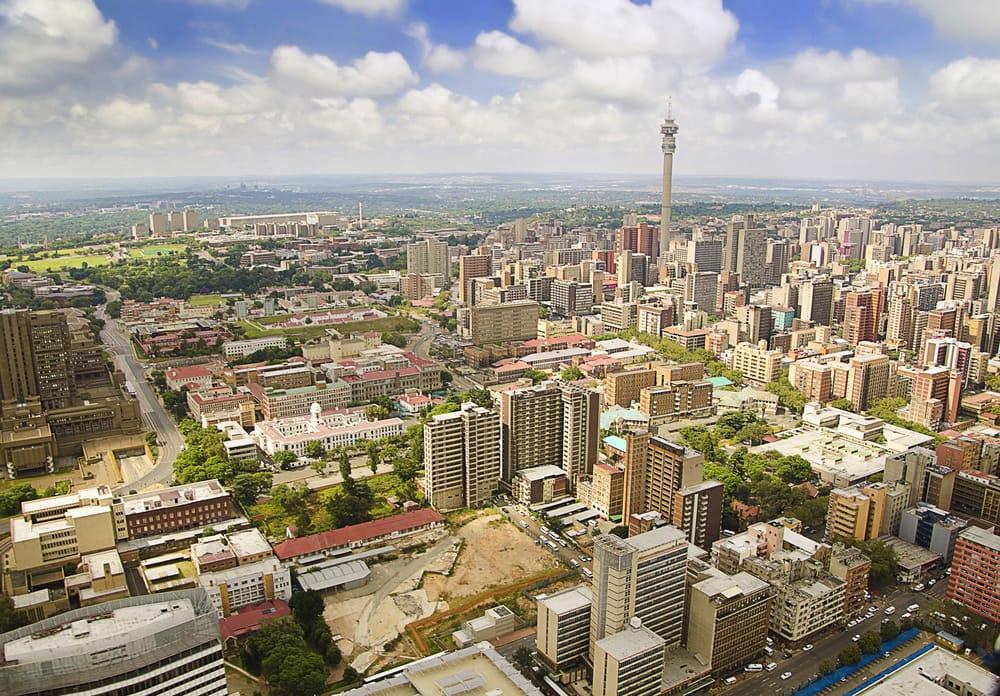 Johannesburg i Sydafrika