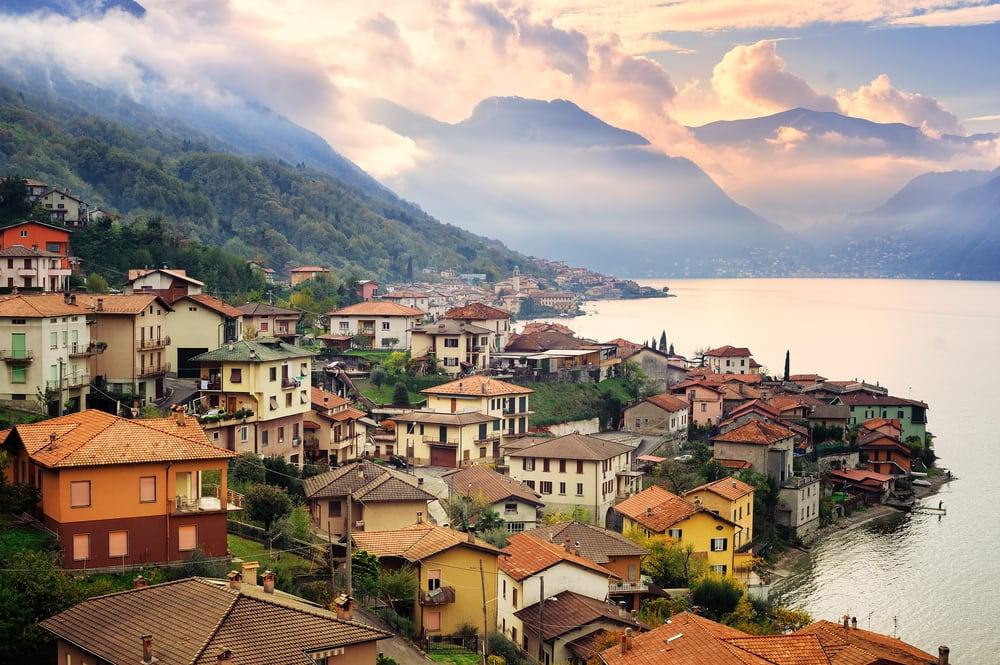 Milano ved Como søen - Italien