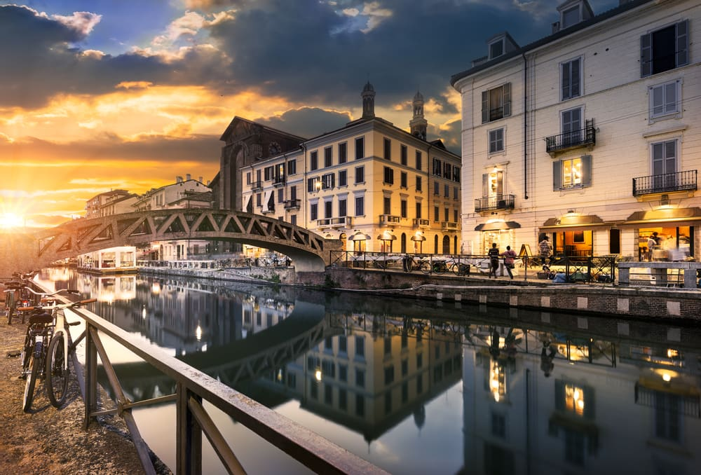 Naviglio Grande - Milano i Italien