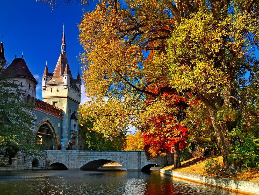 Palads i Budapest i Ungarn
