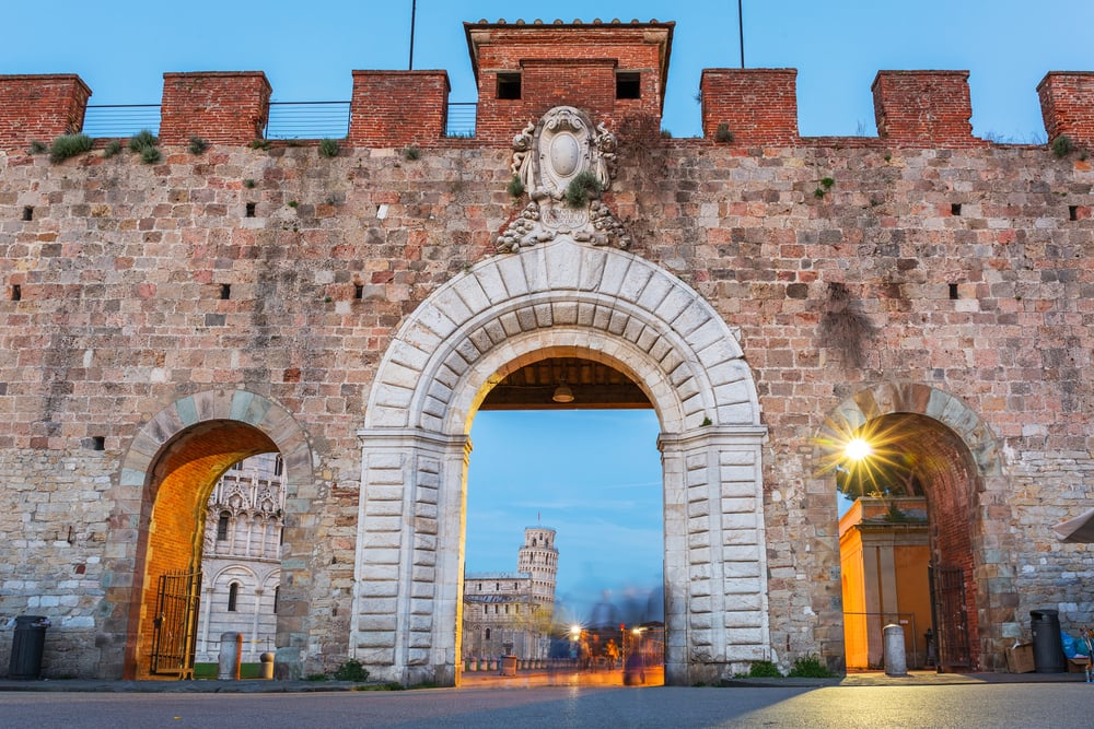 Piazza dei Miracoli - Pisa i Italien