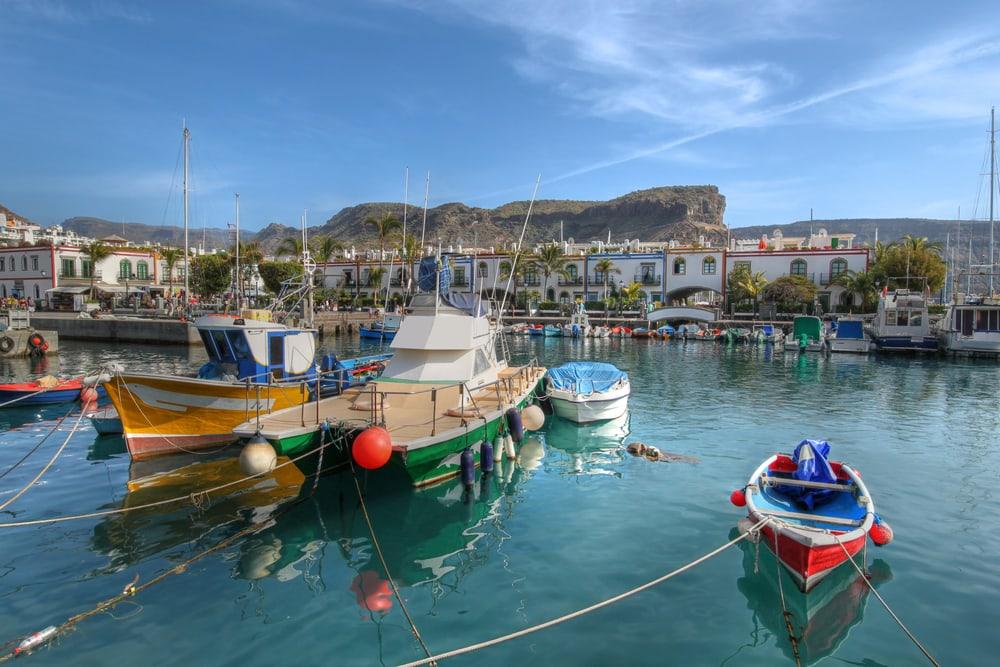 Puerto de Mogan - Gran Canaria i Spanien