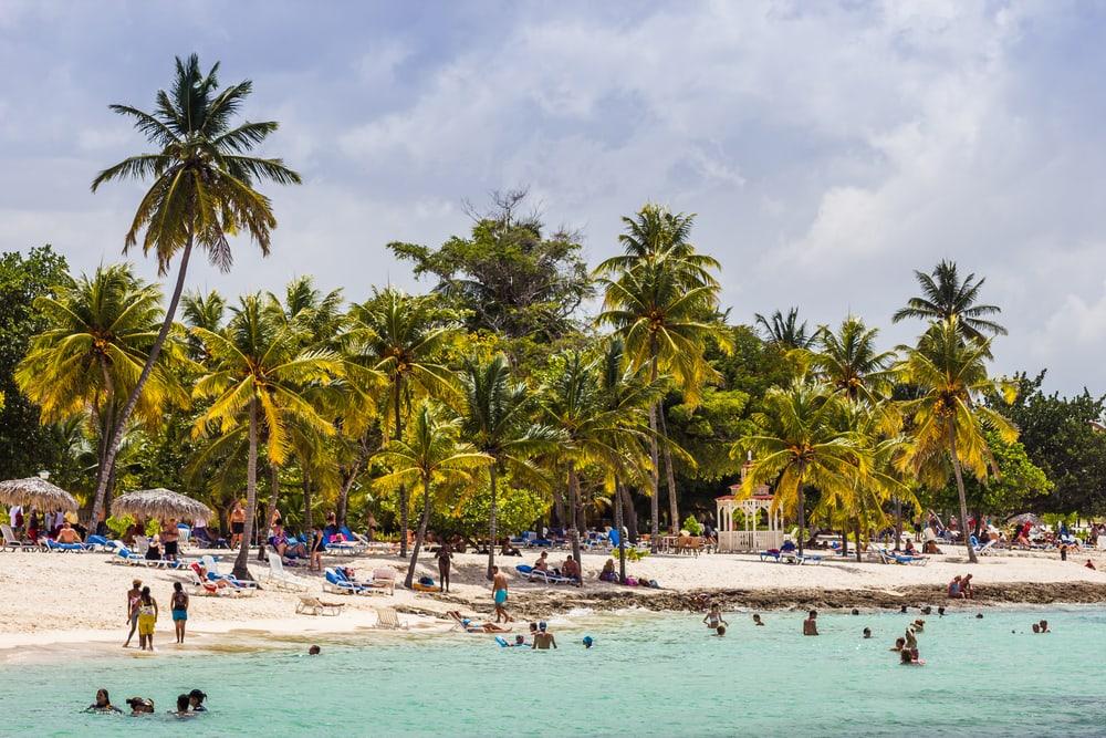 Strand ved Guardalavaca-kysten - Cuba