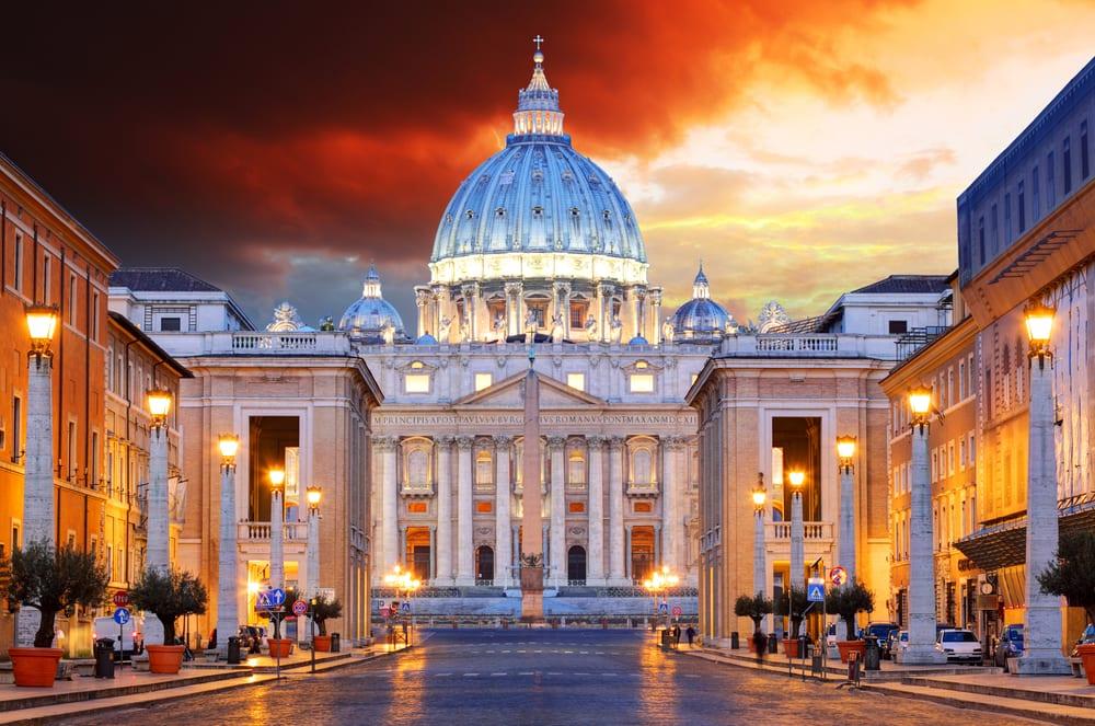 Vatikanstaten i Rom - Italien