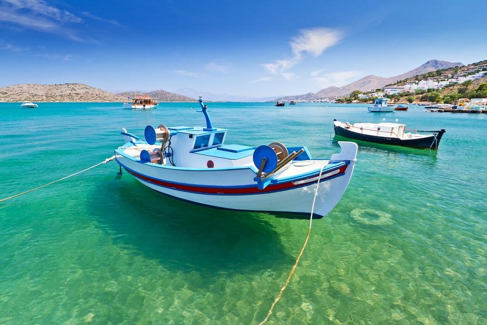 Fiskerbåde - Kreta i Grækenland