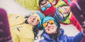 På ski i sommerferien