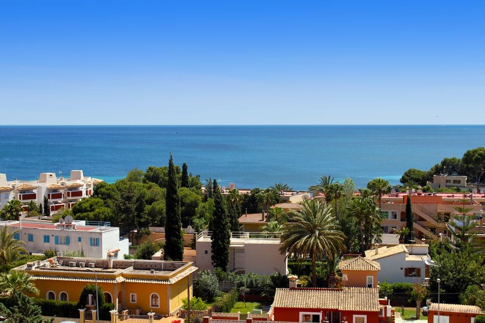Palma Nova på Mallorca i Spanien