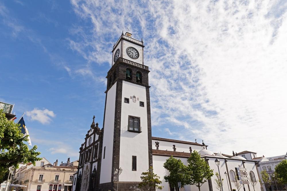 Saint Sabastian kirken - Azorerne i Portugal