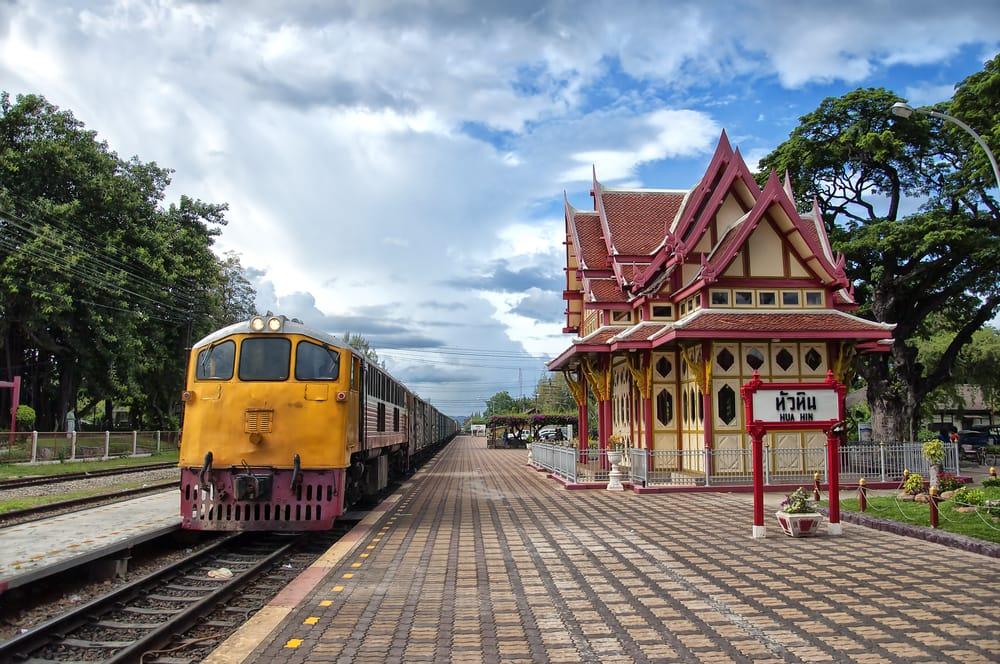 Togstation i Hua Hin - Thailand