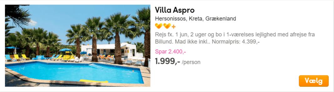 Hersonissos, Kreta Grækenland