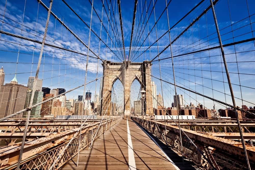 Brooklyn Bridge - New York i USA
