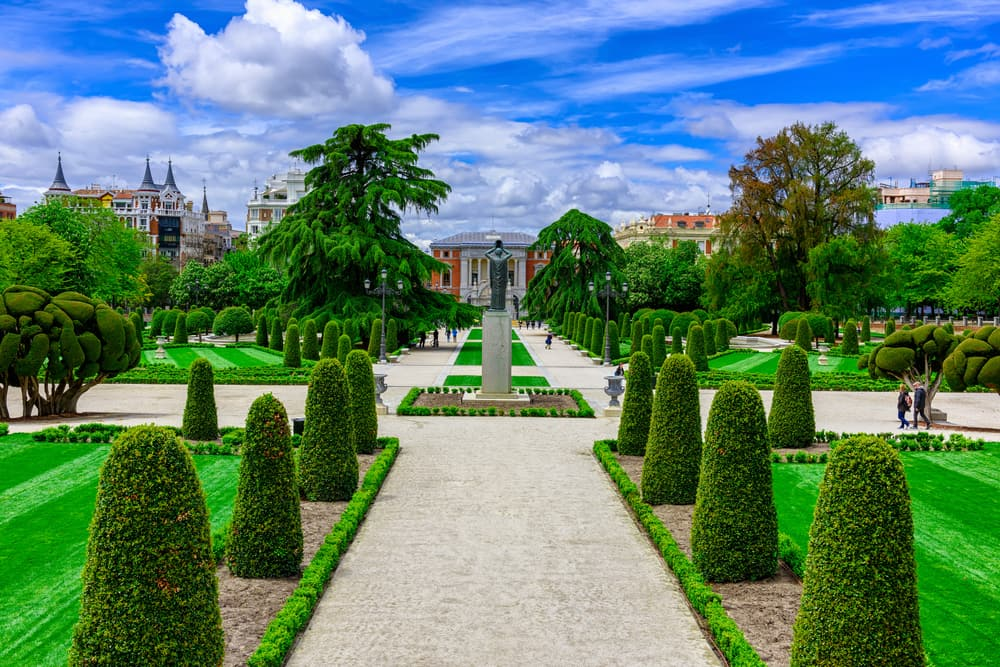 Buen Retiro Park - Madrid i Spanien
