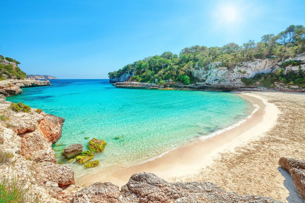 Cala Llombards - Mallorca i Spanien