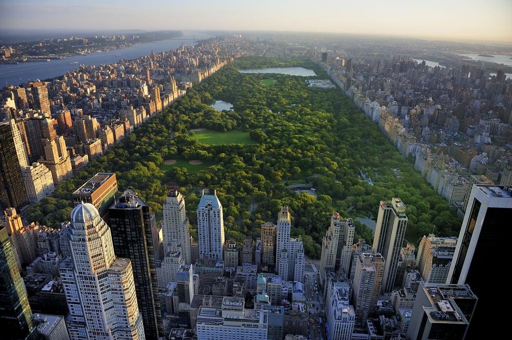 Central Park - New York City i USA