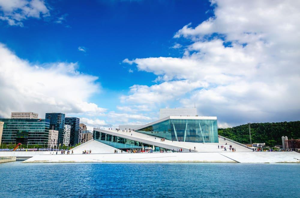 Den norske opera i Oslo - Norge