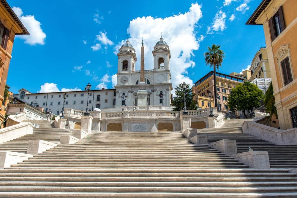 Den Spanske Trappe- Rom i Italien