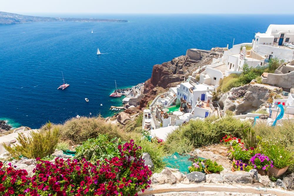 Fira på Santorini - Kreta i Grækenland