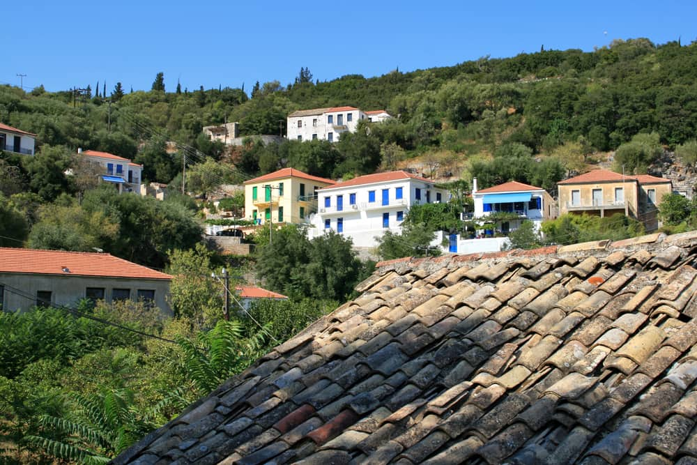Frikes - Ithaca i Grækenland