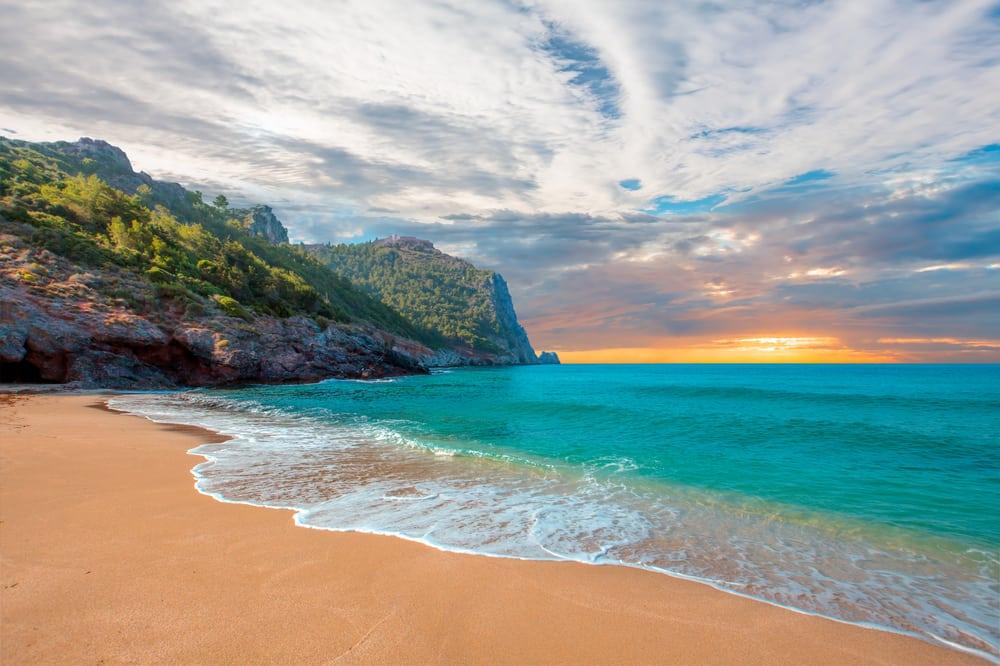 Kleopatra stranden - Antalya i Tyrkiet