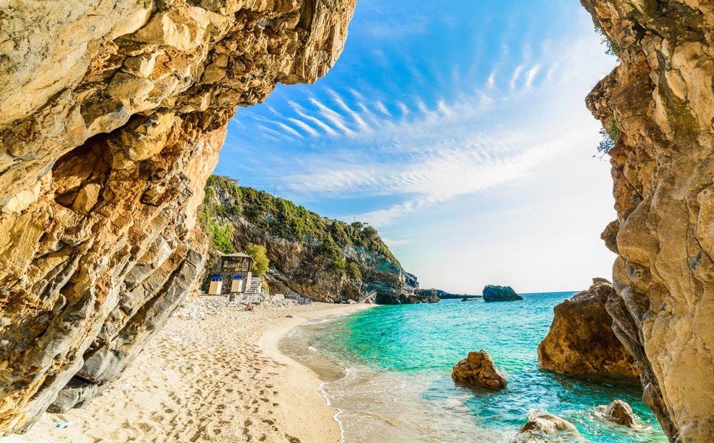 Korfu i Grækenland