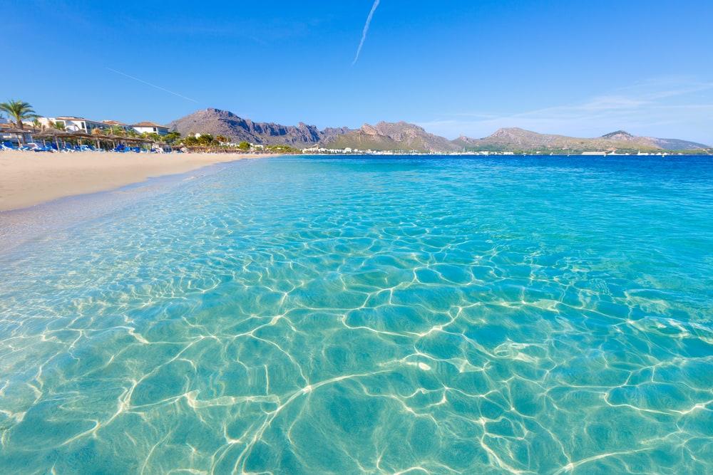 Majorca Platja Tamarells - Mallorca i Spanien