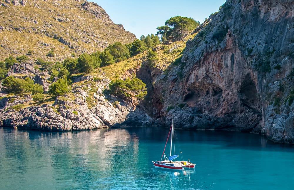Mallorca i Spanien
