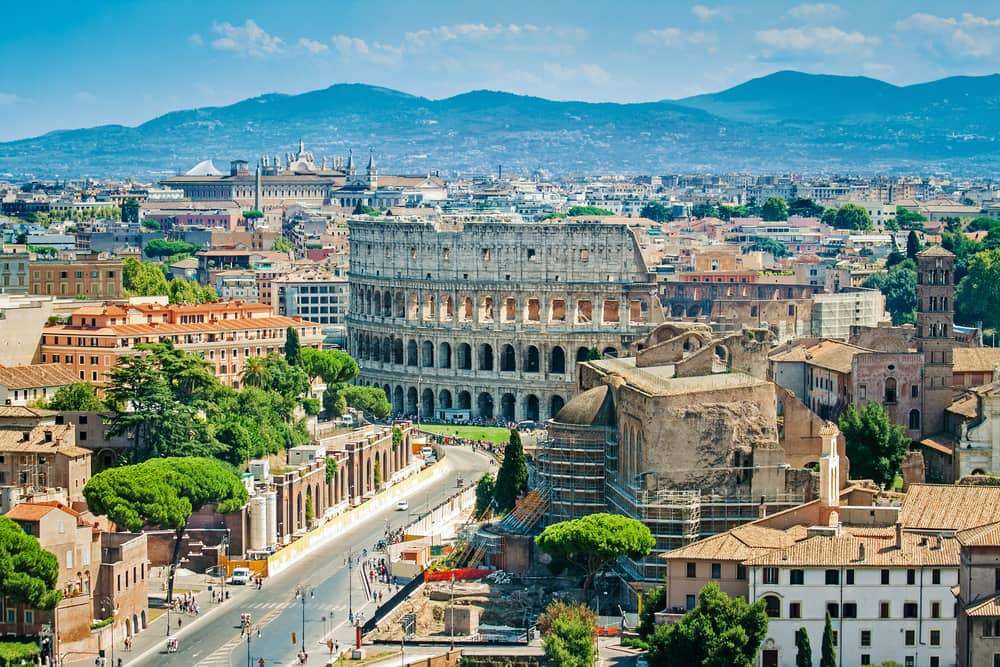 Rom i august