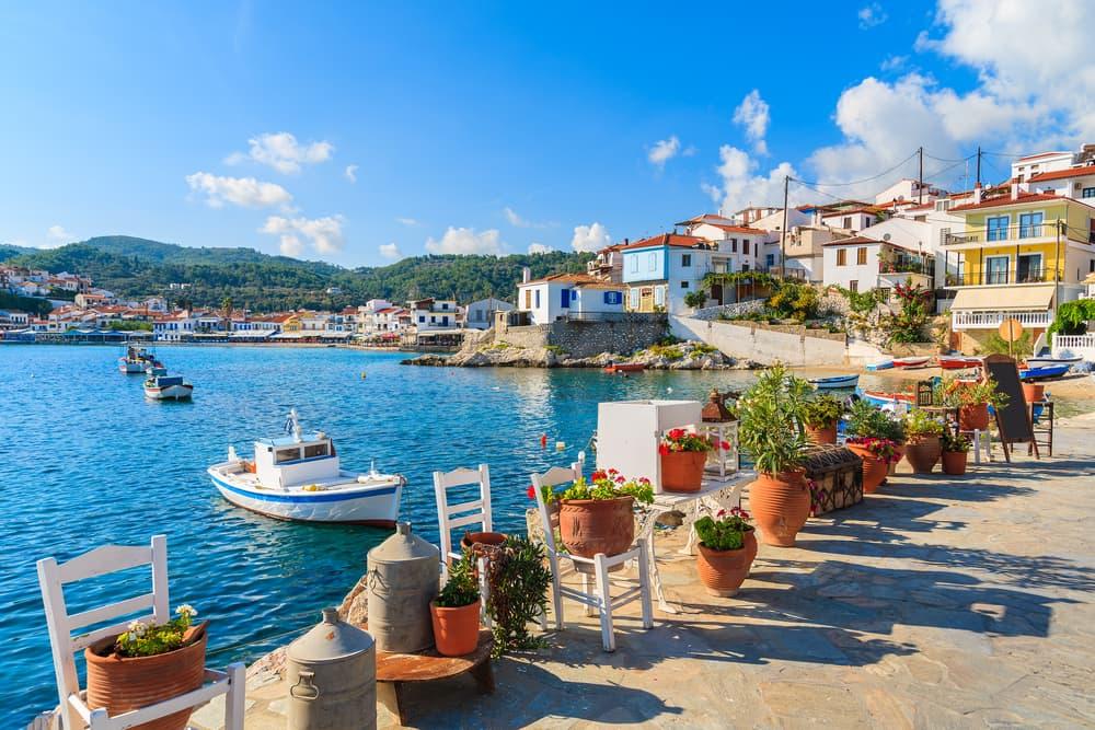 Samos - Rhodos i Grækenland