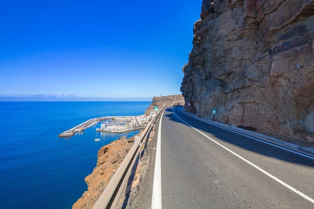 Smuk kystlinje - Gran Canaria i Spanien