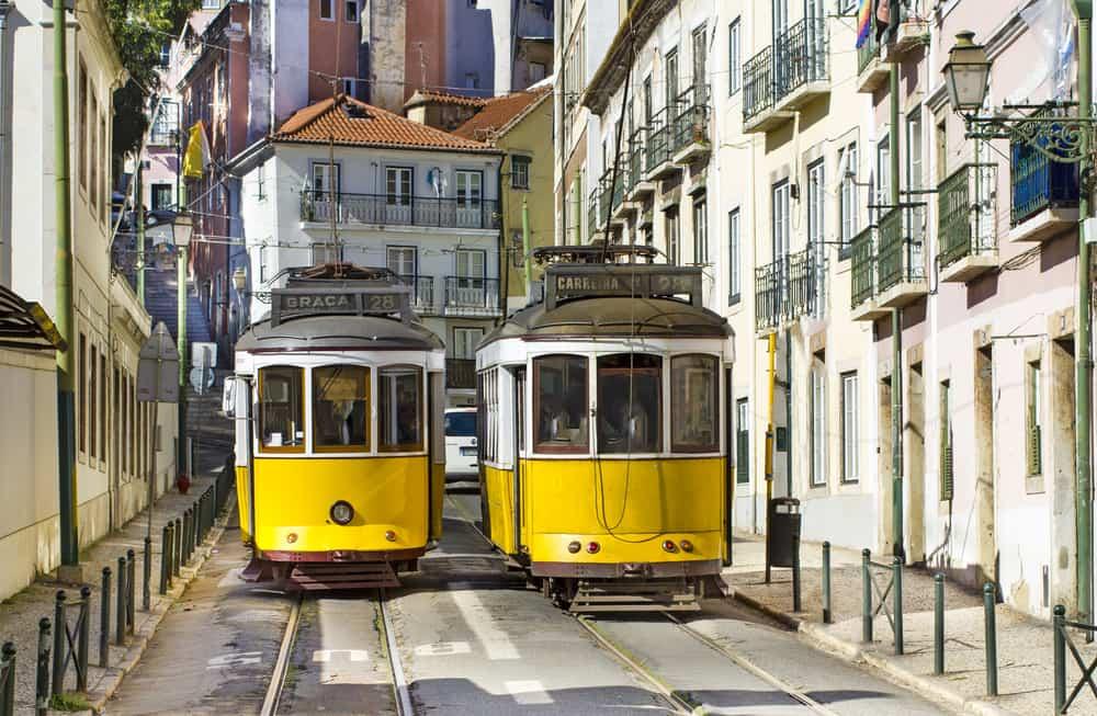 Sporvogne i Lissabon - Portugal