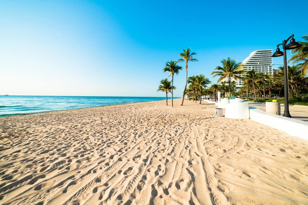 Sandstrand - Fort Lauderdale i USA