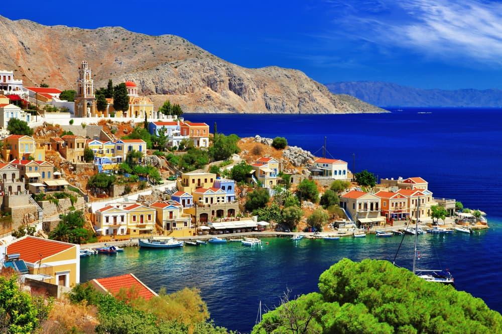 Symi - Rhodos i Grækenland