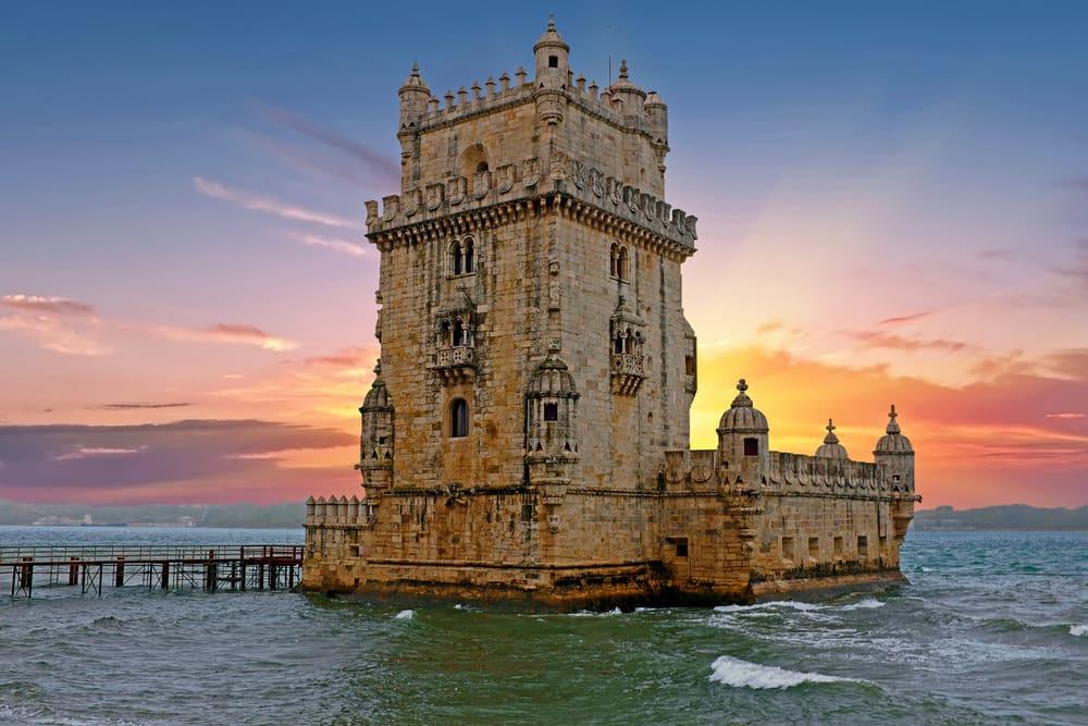 Torre de Belem - Lissabon i Portugal