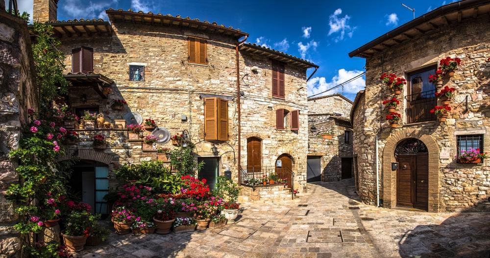Kør-selv-ferie til Toscana