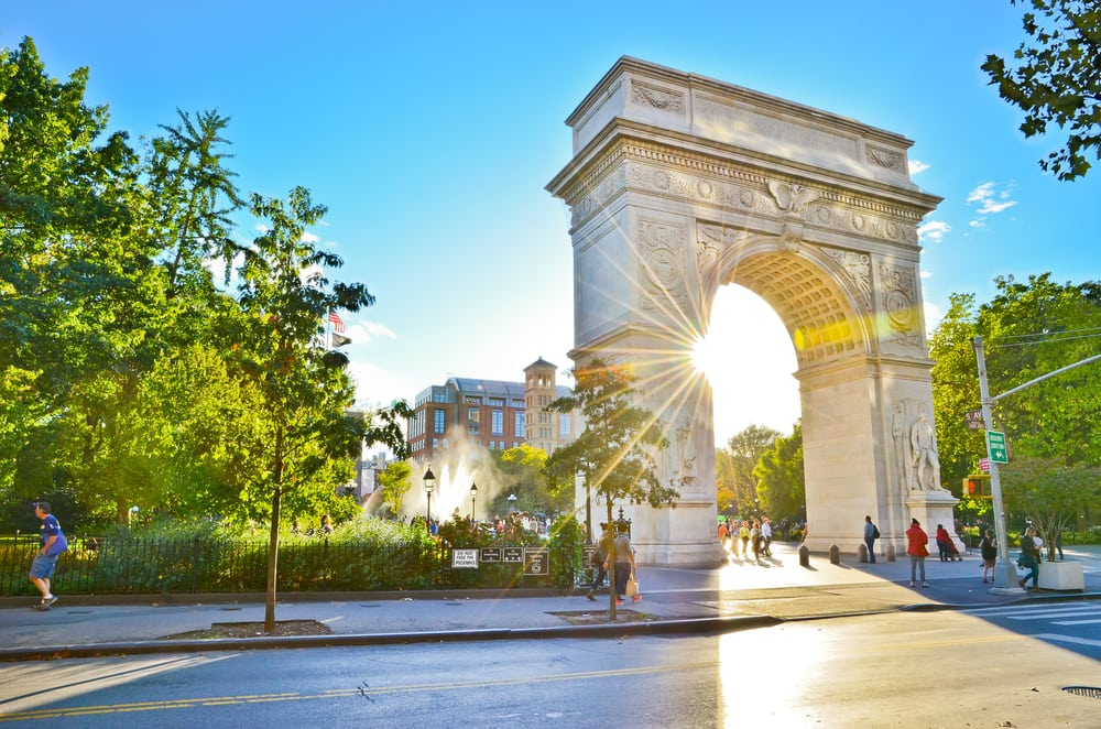 Washington Square Park - New York City i USA