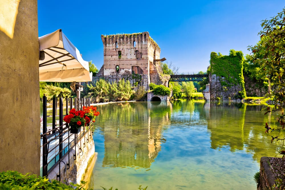 Borghetto: Venetto-regionen i Italien