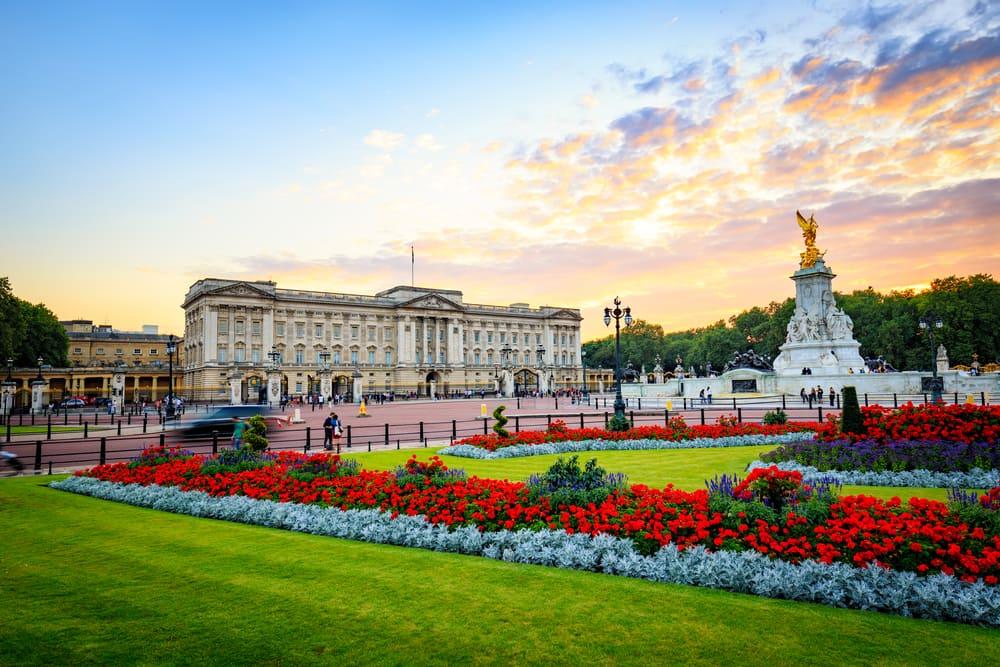Buckingham Palace - London i England
