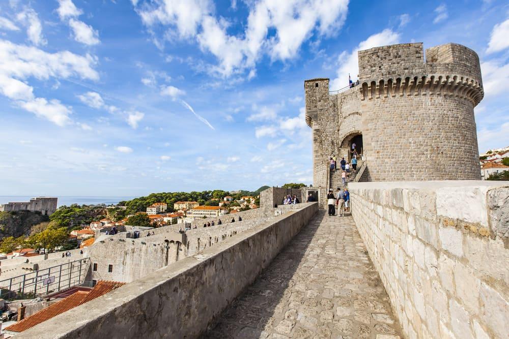 Bymuren - Dubrovnik i Kroatien