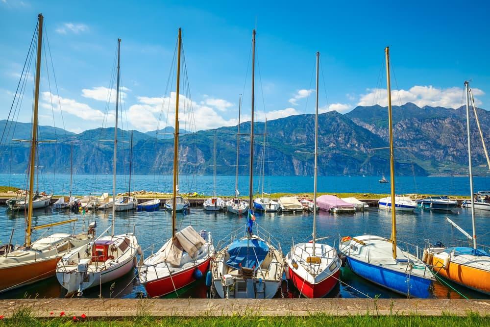 Gardasøen: Veneto-regionen i Italien