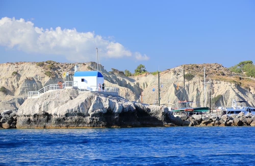 Havnen i Kolymbia - Rhodos i Grækenland
